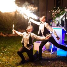 Бармен шоу на праздник в Киев