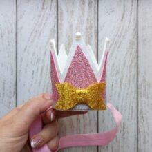Мастер класс корона принцессы на день рождение девочки